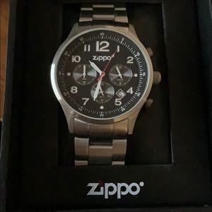 Men's zippo watch